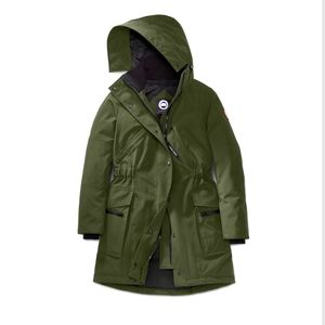 Canada goose kinly parka in army green